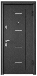 Торекс DELTA M 10  черный шелк,DL-1/ПВХ Дуб белый матовый,D10-Dv1